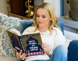 Reese Witherspoon reading Erotic Stories for Punjabi Widows