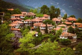 Typical Greek village