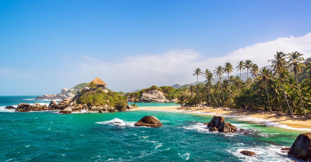 Northern Colombian coast near Cartagena